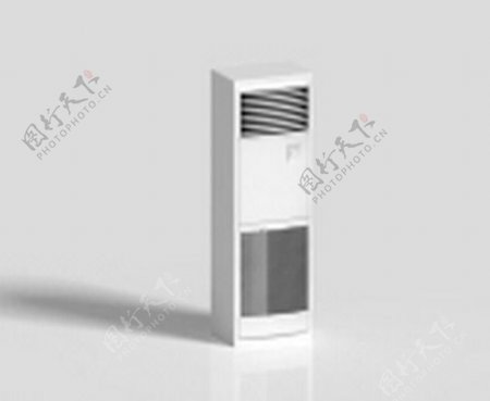 空调3d模型电器模型图片8