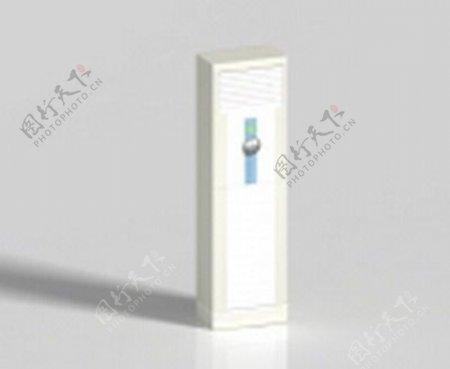 空调3d模型电器模型图片2
