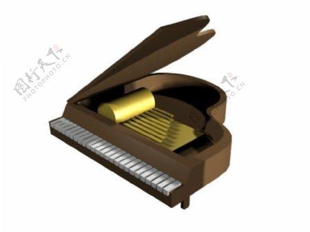 文化体育用品3d乐器模型电器模型22