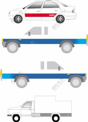 小轿车VI设计模板