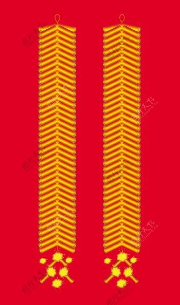 新年红地毯鞭炮喜庆红炮图片