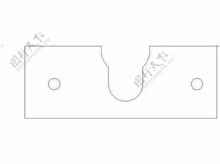 groovemountlasercut安装板