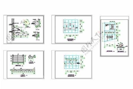 雨棚及附属改造结构图图片