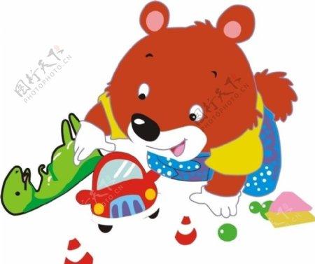 小熊玩玩具图片