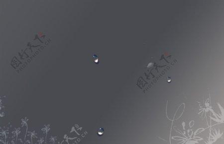 桌面灰色壁纸图片