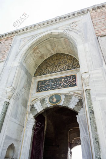 清真寺大门图片