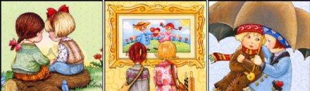 儿童绘本朋友图片