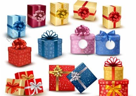 精致时尚礼物包装盒图片