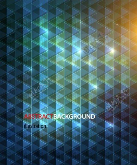 光线菱形格子背景图片