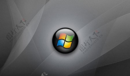 windows灰色壁纸图片
