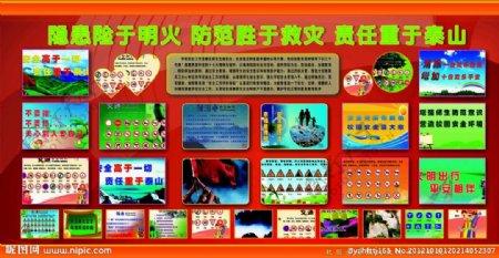 学校安全宣传展板图片