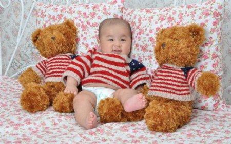 小熊和宝宝图片