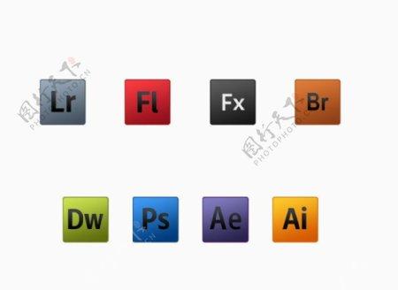 Adobe产品图标图片