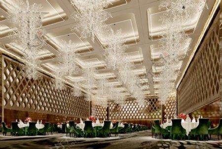 华丽酒店大厅