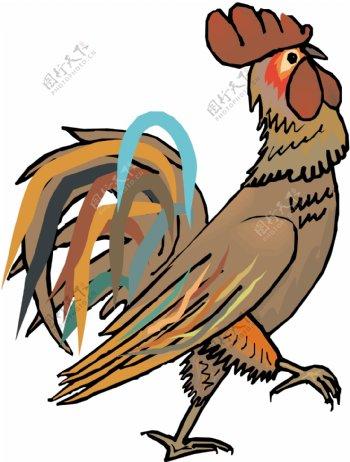 家禽家畜动物矢量素材EPS格式0311