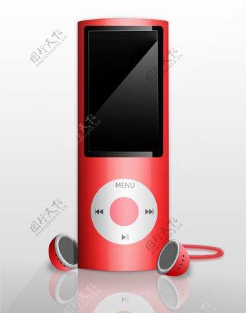 苹果Ipod红色图片