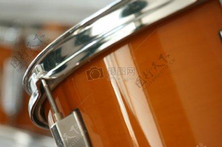 镜头下的鼓乐器