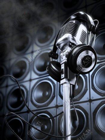 KTV音乐素材图片