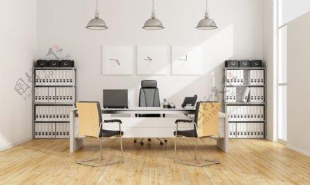 室内办公室设计图片