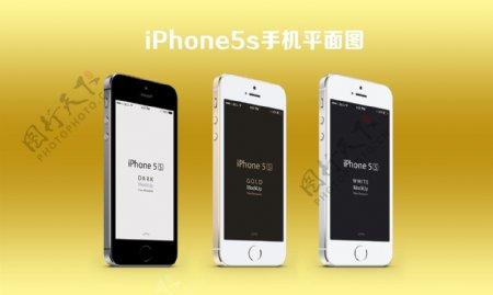 iPhone5s手机平面图图片