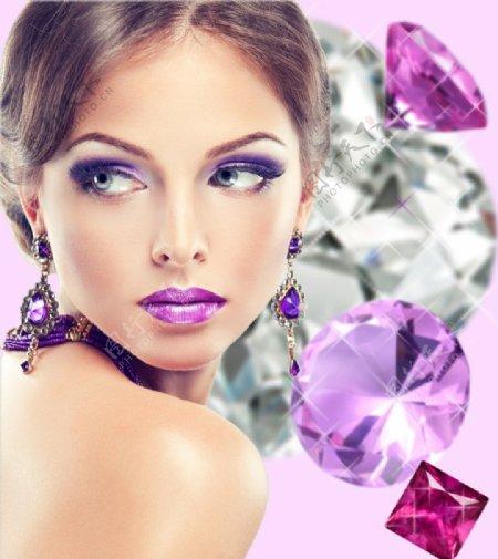 欧美美女模特图片