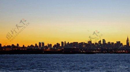 日落纽约壁纸网站背景