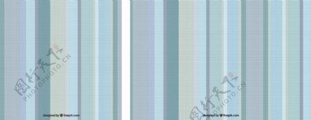 蓝色色调的条纹壁纸