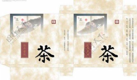 普洱茶包装图片模板下载计矢量图库cdr