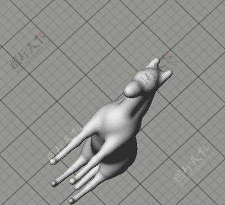 劳拉的马3D打印模型