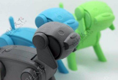 机器狗3D打印模型