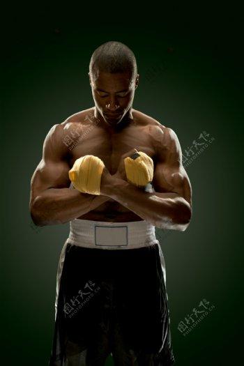 拳击运动员图片