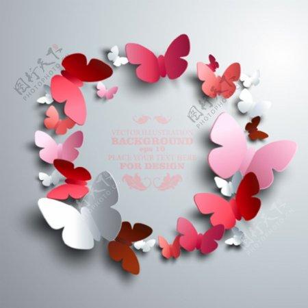 彩色蝴蝶图片