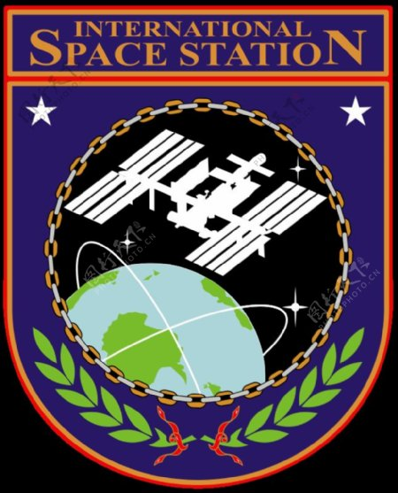 ISS的徽章