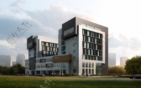 商务楼环境设计图片
