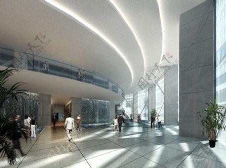 办公大厅环境设计图片