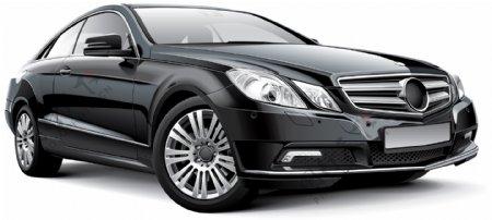 黑色豪华轿车图片