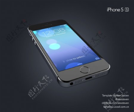 苹果iPhone5S海报图片