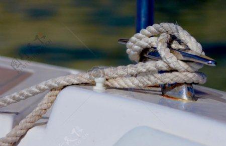 船舶上的绳索