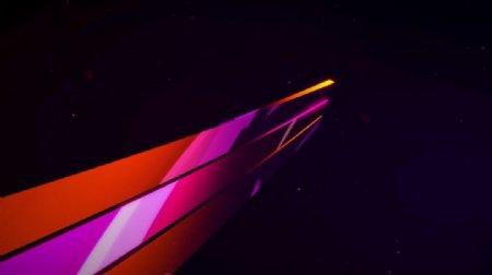 彩色炫光条纹酒吧VJ视觉特效