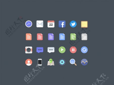 网页web图标icons
