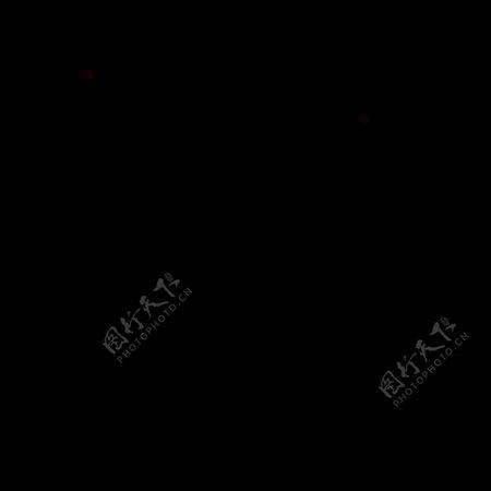 黑白填充风格的常用综合SVG矢量图标集