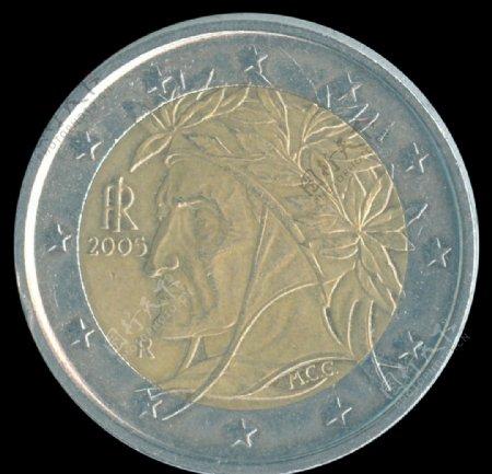 意大利2欧元2005