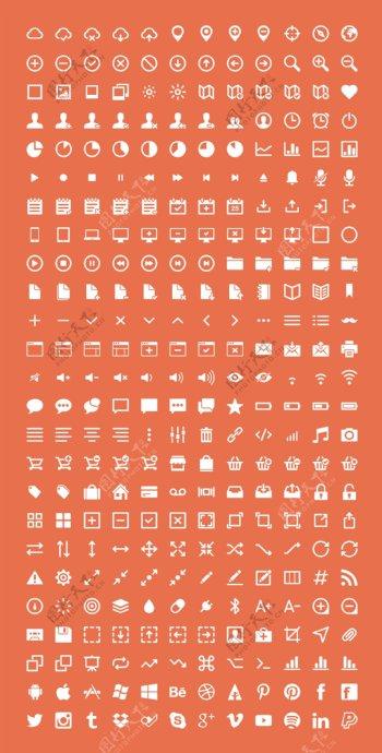 天气位置下载电池图标500个精美icons