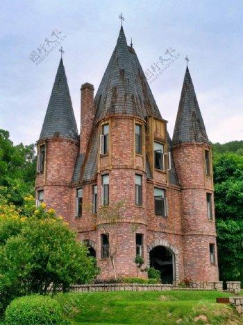 欧洲风格城堡广州九龙湖