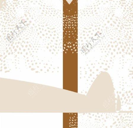 豹纹面料图库