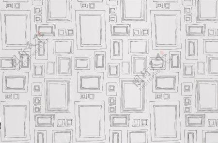 简约童真方形图案壁纸图案