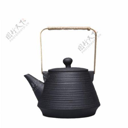深色内涵茶壶产品实物