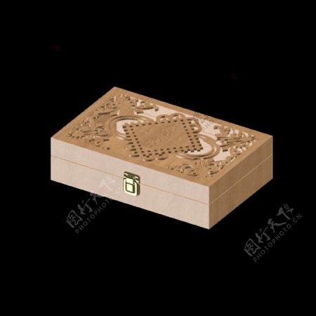 木纹复古包装盒免扣图案
