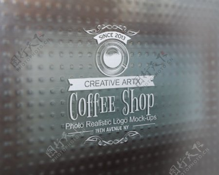 logo效果图模板