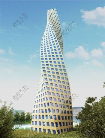 3D设计大厦